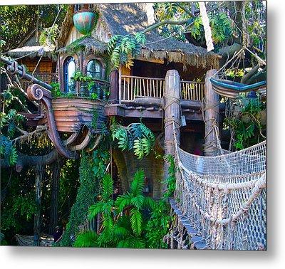 Tarzan Treehouse Metal Print by Karon Melillo DeVega