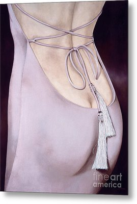 Tassels Metal Print by Lawrence Supino