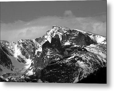 Taylor Peak Metal Print by Perspective Imagery