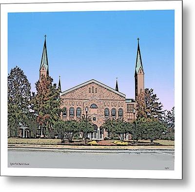 Taylors First Baptist Church Metal Print