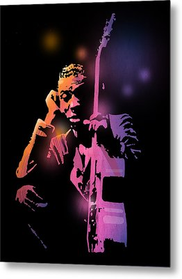 Tbone Walker Metal Print by Paul Sachtleben