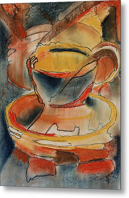Tea For One - Korea Midnight Series Metal Print by Shirley McMahon
