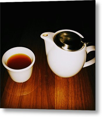 Tea-juana Metal Print by Albab Ahmed
