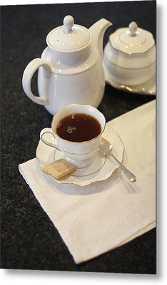 Tea Service Metal Print by Mark Platt