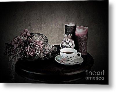Tea Time 2nd Rendition Metal Print