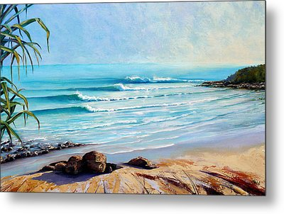 Tea Tree Bay Noosa Heads Australia Metal Print