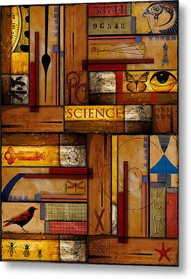 Teacher - Science Metal Print by Carol Leigh
