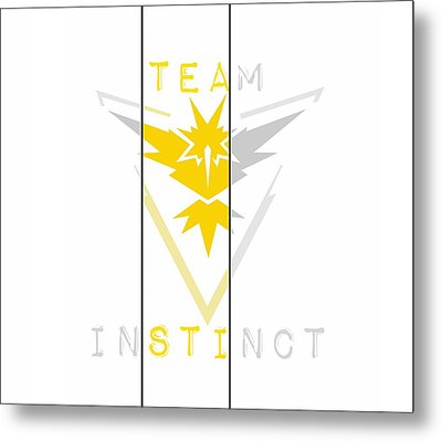 Team Instinct Metal Print by Marianna Mills