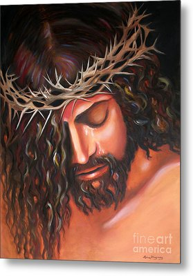 Tears From The Crown Of Thorns Metal Print by Lora Duguay