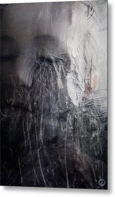 Metal Print featuring the digital art Tears Of Ice by Gun Legler