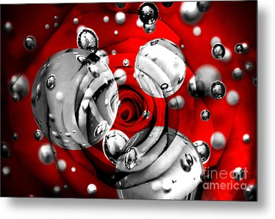 Tears Of Passion Metal Print by Az Jackson