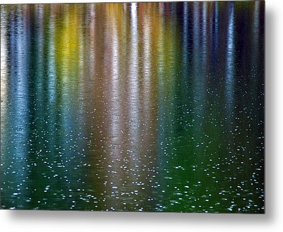 Metal Print featuring the photograph Tears On A Rainbow by John Haldane