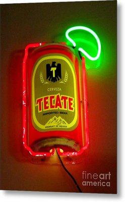 Tecate Metal Print by John Malone