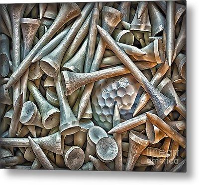 Teed Metal Print by Walt Foegelle