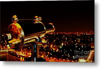 Metal Print featuring the photograph Telescope by Louise Fahy