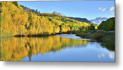 Metal Print featuring the photograph Telluride Mountain Lake by Ray Mathis