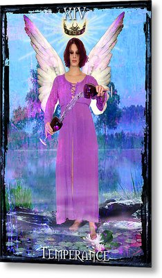 Temperance Metal Print by Tammy Wetzel