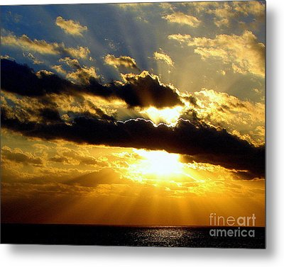 Tempestuous Metal Print by Priscilla Richardson