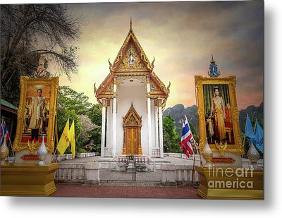 Temple Entrance Metal Print