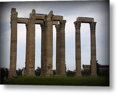 Temple Of Zeus Metal Print by Kevin Flynn