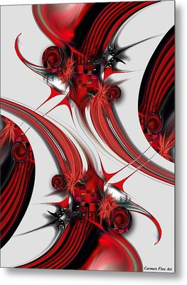 Tender Design - Composition Metal Print