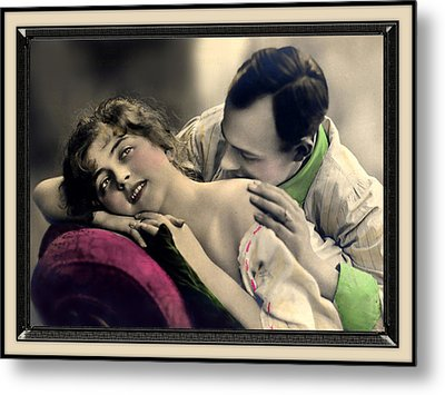 Tender Kisses Metal Print