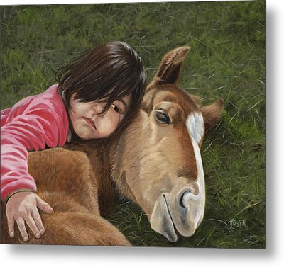 Tender Love Metal Print