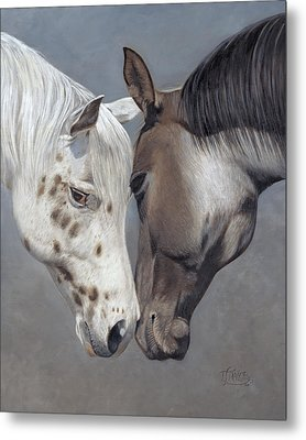 Tender Regard Metal Print