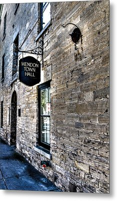 Mendon Town Hall Metal Print by William Norton