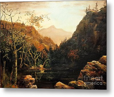 Tennesse River Metal Print by Lee Piper