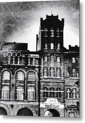 Metal Print featuring the photograph Tennessee Brewery by Lizi Beard-Ward