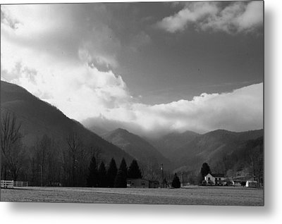 Tennessee Mountains Metal Print by Al  Swasey