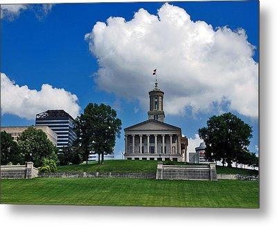 Tennessee State Capitol Nashville Metal Print by Susanne Van Hulst
