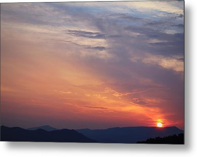 Tennessee Sunset Metal Print by Beth Vincent
