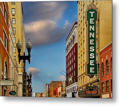 Tennessee Theatre Metal Print by Steven  Michael