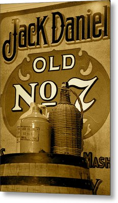 Tennessee Whisky Metal Print by Staci-Jill Burnley
