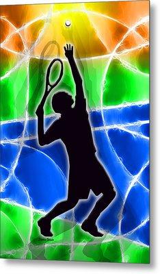 Tennis Metal Print by Stephen Younts