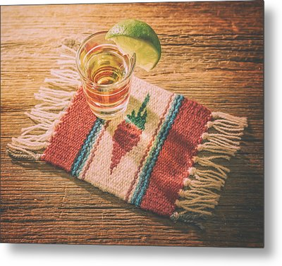 Tequila For Cinco De Mayo Metal Print by Scott Norris