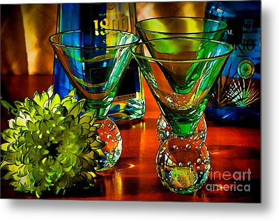 Tequila Ready Metal Print