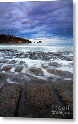 Tessellated Flow Metal Print by Mike  Dawson