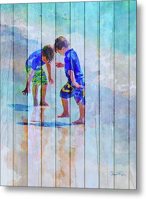 A Summer To Remember Ivc Metal Print by Susan Molnar