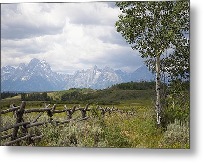 Teton Ranch Metal Print