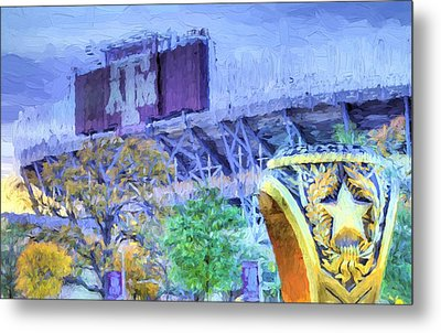 Texas Aggies Ring Metal Print by JC Findley