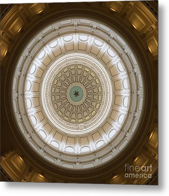 Metal Print featuring the photograph Texas Capital by Robert Meanor