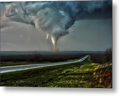 Metal Print featuring the photograph Texas Twister by James Menzies