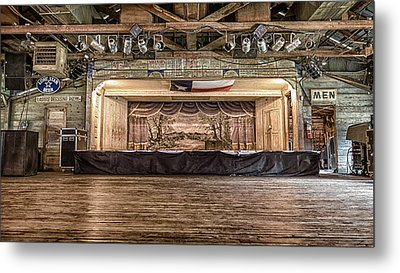 Texas Two Steppin At Gruene Hall Metal Print by Stephen Stookey