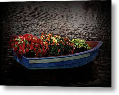 Metal Print featuring the photograph Texture Drama Boat Parade by Aimee L Maher Photography and Art Visit ALMGallerydotcom