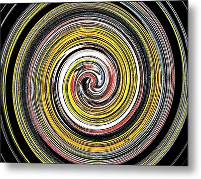 Textured Colors Metal Print by Scott Haley