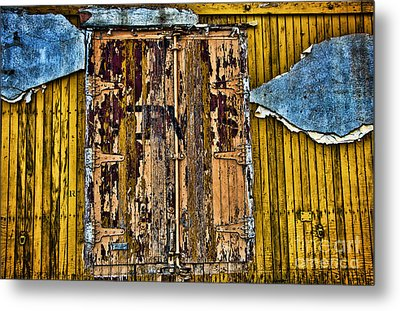 Textured Wall Metal Print by Ray Laskowitz - Printscapes