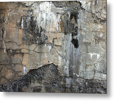 Textures Metal Print by Robert Knight